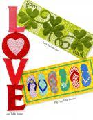 Table Please sewing pattern book by Nancy Halvorsen Art to Heart 4