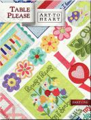 Table Please sewing pattern book by Nancy Halvorsen Art to Heart