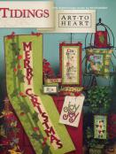 Tidings sewing pattern book by Nancy Halvorsen Art to Heart