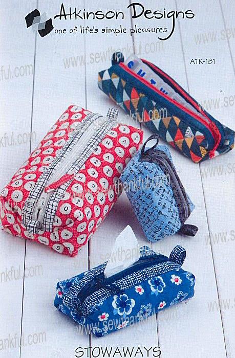 Stowaways Mini Duffle Bags In 6 Sizes Sewing Pattern