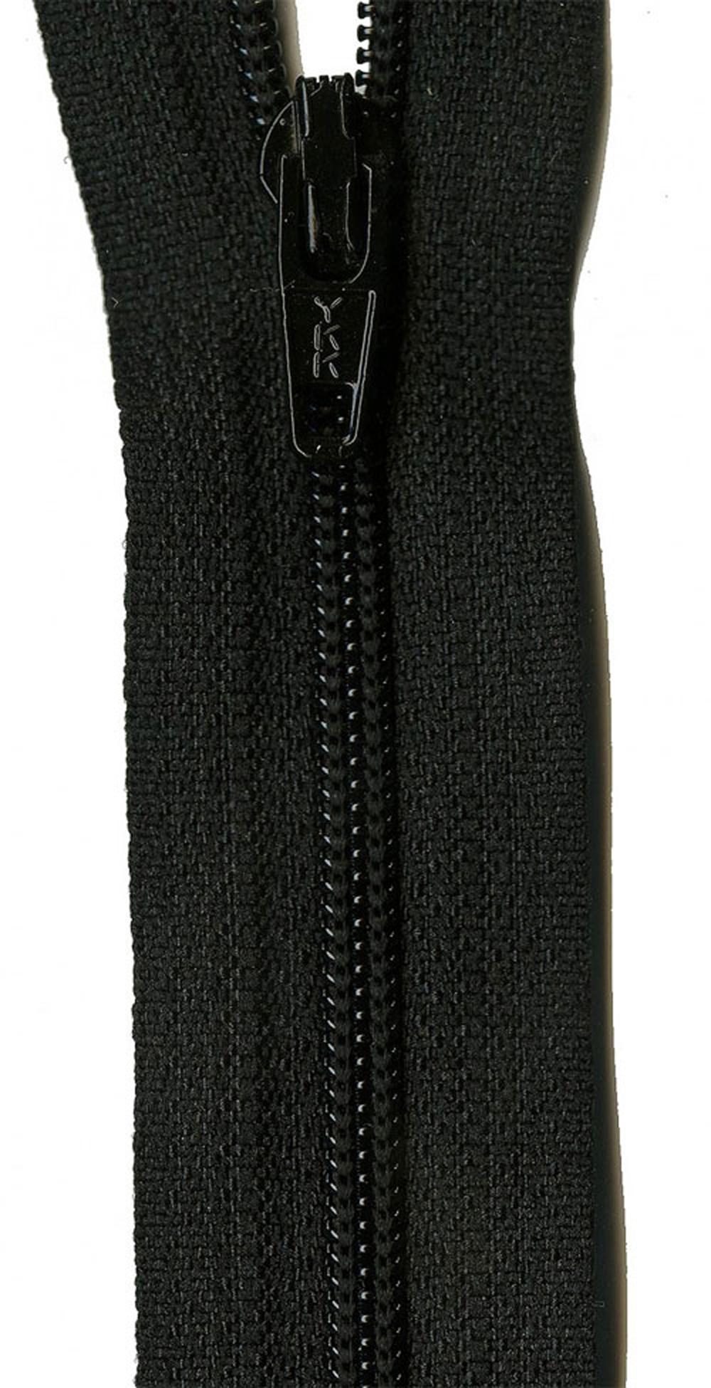 Zipper-YKK-22-inch-Black