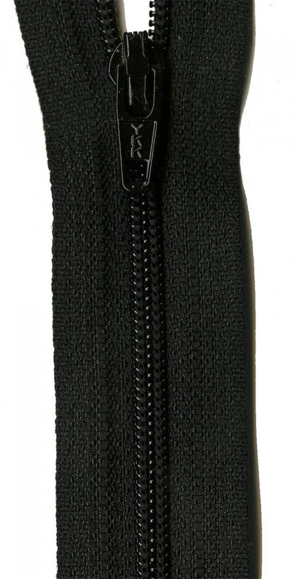 Zipper-YKK-22-inch-Black