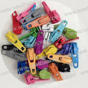 Zipper Pulls Candy Color MIX of ASSORTED COLORS, approx. 30 count, from Atkinson Designs 2