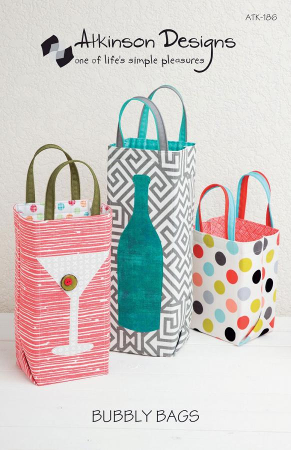 Bubbly Bags sewing pattern from Atkinson Designs