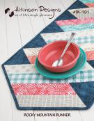 Rocky Mountain Table Runner sewing pattern from Atkinson Designs