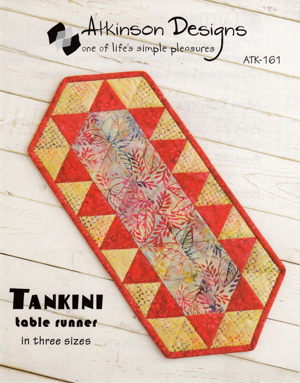 Tankini-Table-Runner-sewing-pattern-Atkinson-Designs-front