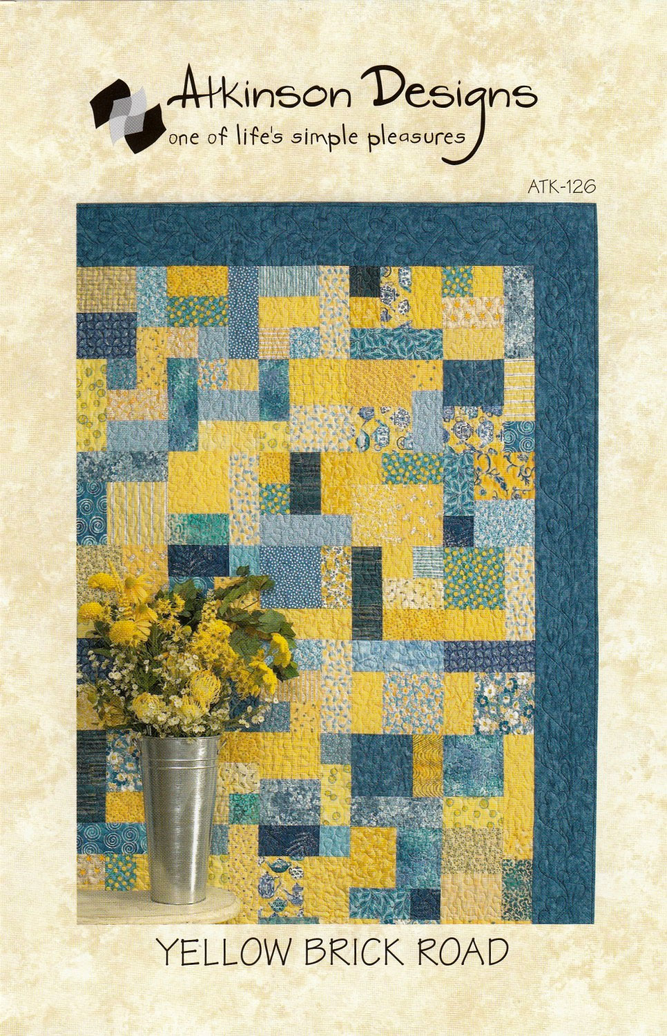 Yellow-Brick-Road-quilt-sewing-pattern-Atkinson-Designs-front