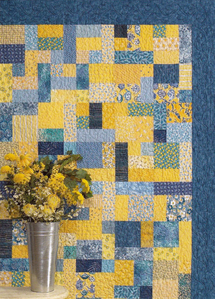 Yellow-Brick-road-quilt-sewing-pattern-Atkinson-Designs-1