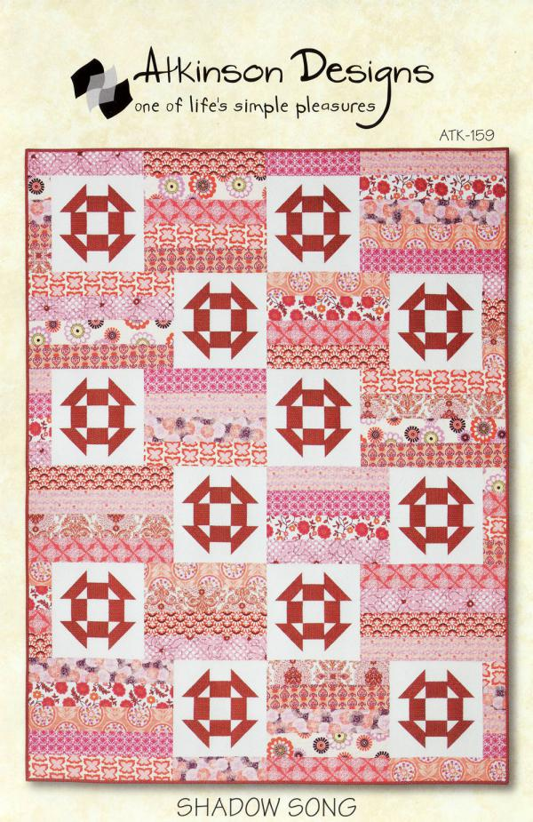 Shadow Song quilt sewing pattern from Atkinson Designs