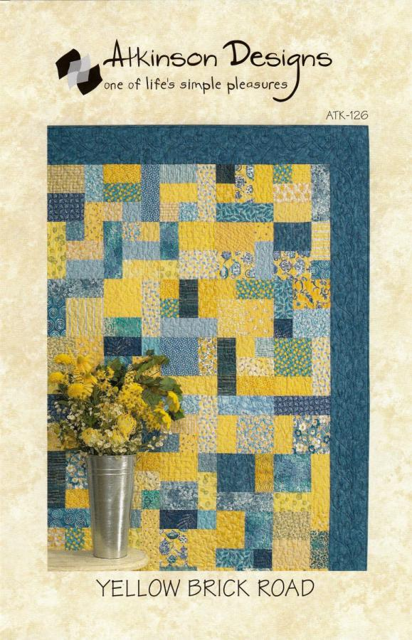 Yellow Brick Road quilt sewing pattern from Atkinson Designs
