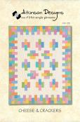 Cheese & Crackers quilt sewing pattern from Atkinson Designs