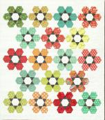 Hexie Garden quilt sewing pattern from Atkinson Designs 3