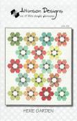 Hexie-Garden-quilt-sewing-pattern-Atkinson-Designs-front