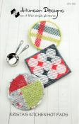 Krista's Kitchen Hot Pads sewing pattern from Atkinson Designs