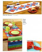 Let's Do Lunch Tote Bags and Table Runners sewing pattern book from Atkinson Designs 6