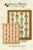 Pie Crust Pile Up quilt sewing pattern from Atkinson Designs 1