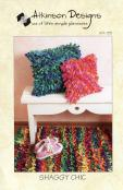 Shaggy Chic Pillows and Rug sewing pattern from Atkinson Designs