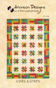 Stars & Strips quilt sewing pattern from Atkinson Designs