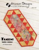 Tankini Table Runner sewing pattern from Atkinson Designs