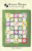 Tile Tango quilt sewing pattern from Atkinson Designs