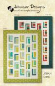 Urban Cabin quilt sewing pattern from Atkinson Designs