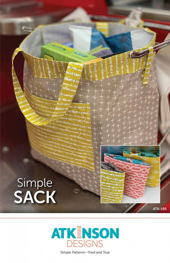 Simple Sack sewing pattern from Atkinson Designs