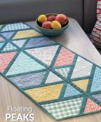 INVENTORY REDUCTION -- Floating Peaks table runner sewing pattern from Atkinson Designs 2