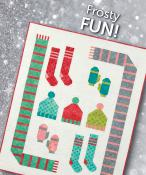 INVENTORY REDUCTION...Frosty Fun quilt sewing pattern from Atkinson Designs 2