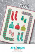 INVENTORY REDUCTION...Frosty Fun quilt sewing pattern from Atkinson Designs
