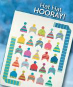 INVENTORY REDUCTION...Hat Hat Hooray quilt sewing pattern from Atkinson Designs 2