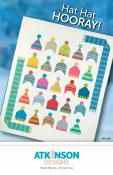 INVENTORY REDUCTION...Hat Hat Hooray quilt sewing pattern from Atkinson Designs