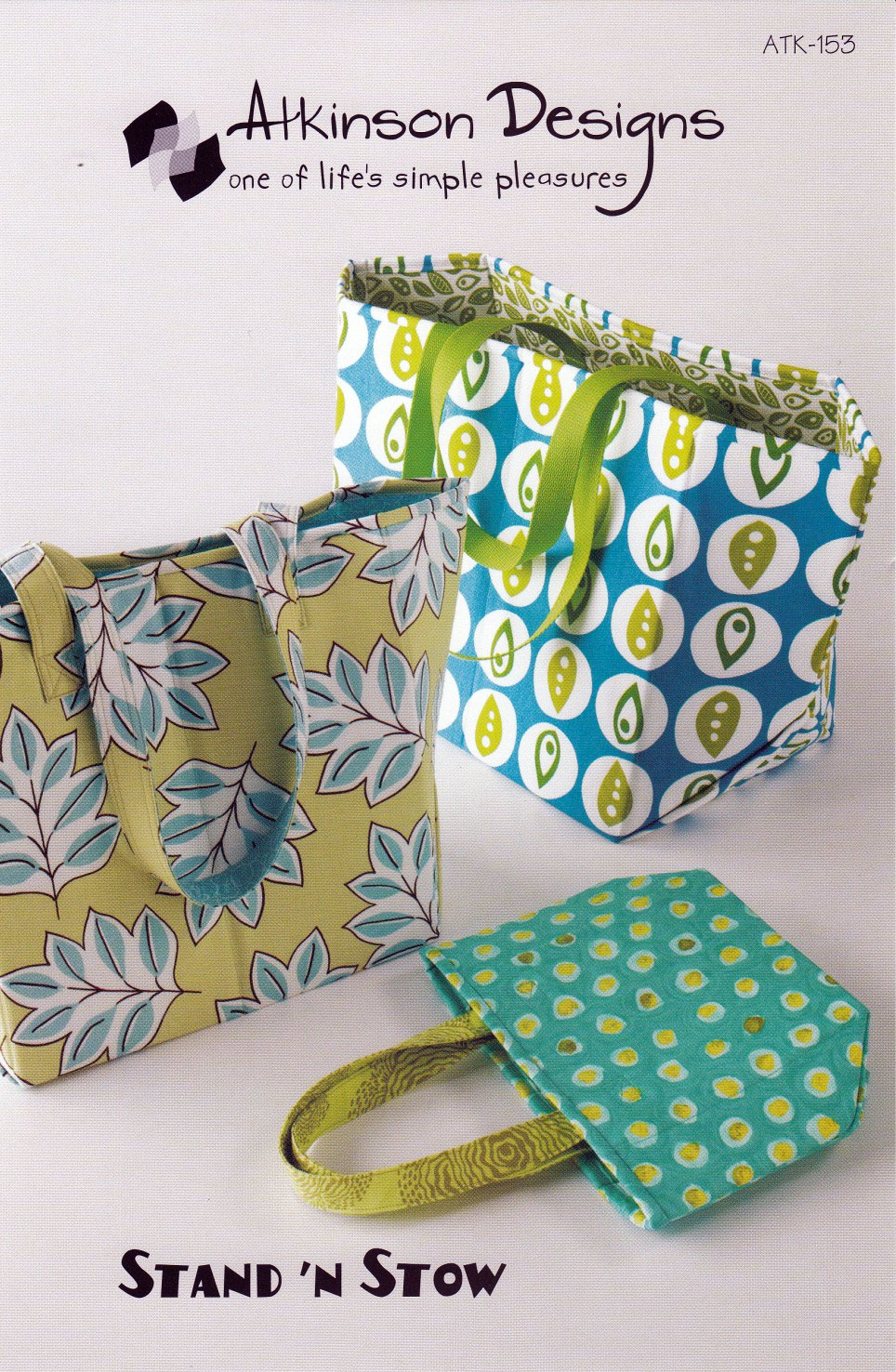 Atkinson Designs Stand N Stow : Stand n stow sewing pattern from atkinson designs