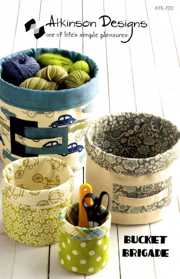 Bucket Brigade sewing pattern from Atkinson Designs
