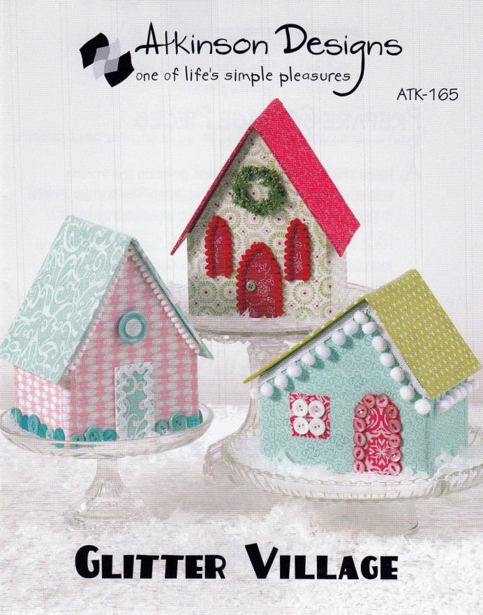 Glitter Village sewing pattern from Atkinson Designs