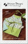 Mom and Me Aprons sewing pattern (plus bonus chenille hot pad sewing pattern) from Atkinson Designs 1
