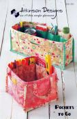Pockets To Go organizer sewing pattern from Atkinson Designs