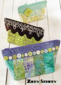 Zippy Strippy zippered pouch bags sewing pattern from Atkinson Designs 2