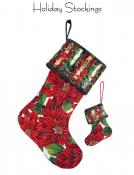 Holiday Stockings sewing pattern from Aunties Two 2