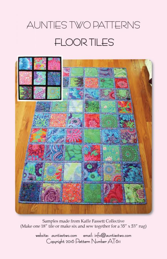 Floor Tiles sewing pattern from Aunties Two