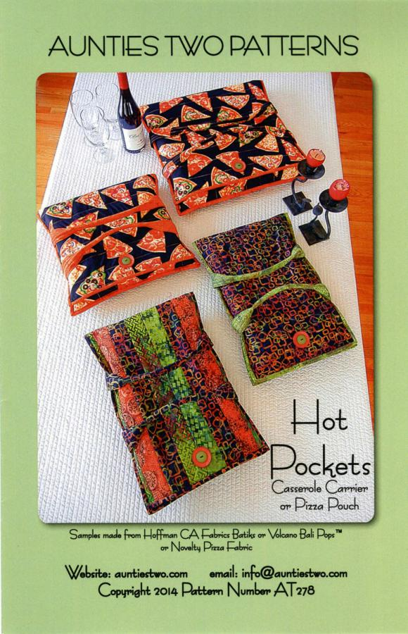 Hot Pockets sewing pattern from Aunties Two