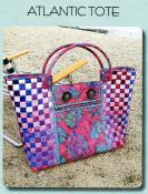 Atlantic Tote sewing pattern from Aunties Two 2