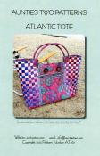 Atlantic Tote sewing pattern from Aunties Two