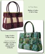 Bar Harbor Tote sewing pattern from Aunties Two 2