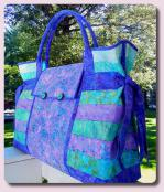 Carpet Bag sewing pattern from Aunties Two 2