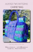 Carpet Bag sewing pattern from Aunties Two