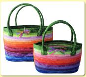 Cat's Eye Basket sewing pattern from Aunties Two 2