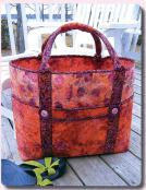 Big Sebago Tote sewing pattern from Aunties Two 2
