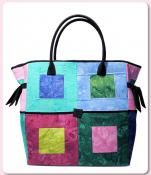 Block Party Bag sewing pattern from Aunties Two 2