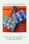Breezy Weave Bags sewing pattern from Aunties Two
