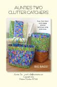 Clutter Catchers sewing pattern from Aunties Two
